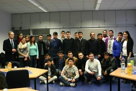 Erste Delegation aus der Türkei (Sanliurfa)
